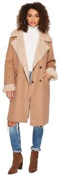 J.o.a. Full Shearling Coat Women's Coat