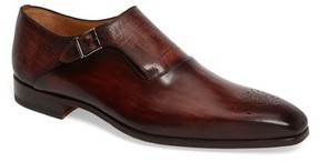 Magnanni Men's Saburo Monk Strap Shoe