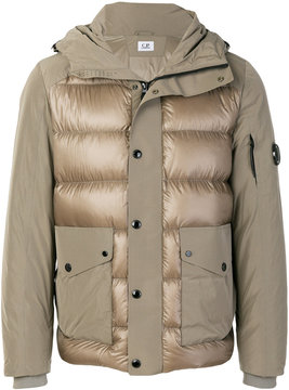 C.P. Company cargo pocket padded jacket