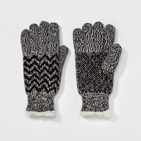 Isotoner Women's SmartDRI Chevron Knit Gloves