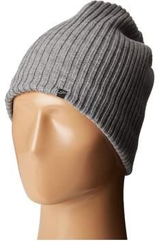 Plush Fleece-Lined Ribbed Beanie