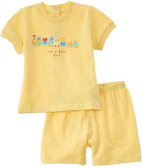 Chicco Boys' 2Pc T-Shirt & Short Set