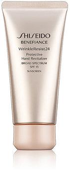 Shiseido Women's Benefiance WrinkleResist24 Protective Hand Revitalizer SPF 15
