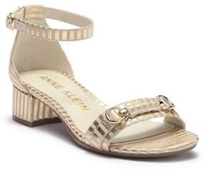 Anne Klein Esme Ankle Strap Sandal