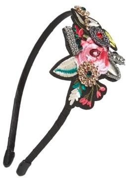 Cara Rose Patch Headband