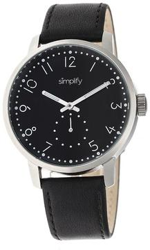Simplify The 3400 Collection SIM3402 Silver Analog Watch