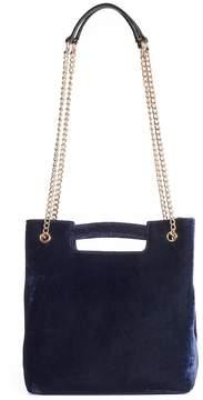 Lauren Conrad Runway Collection Carmine Velvet Convertible Crossbody Bag