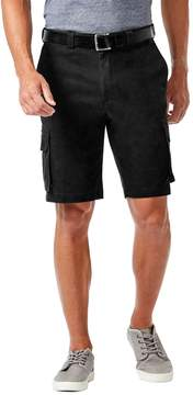 Haggar Big & Tall Stretch Cargo Shorts