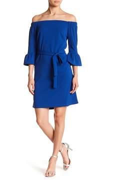 ABS by Allen Schwartz Collection Off-the-Shoulder Shift Dress