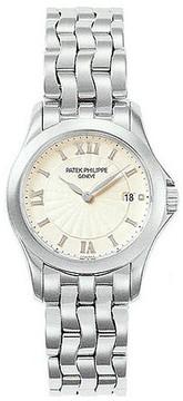 Patek Philippe Calatrava 18kt White Gold Ladies Watch