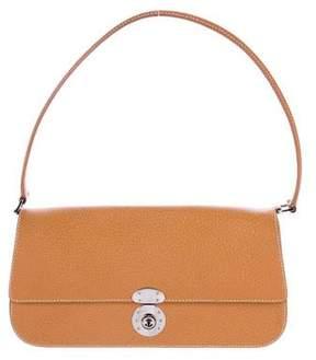 Ralph Lauren Textured Leather Shoulder Bag