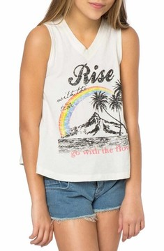 O'Neill Girl's Rise With The Tide Graphic Print Tank