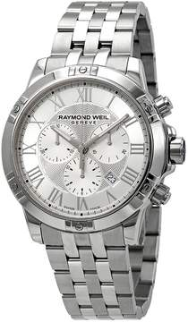 Raymond Weil Tango Chronograph Silver Dial Men's Watch