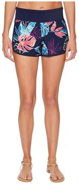 Tommy Bahama IslandActive Graphic Tropics Hybrid Pull-On Short Cover-Up Women's Swimwear