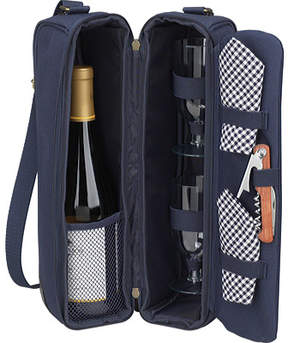Picnic at Ascot Sunset Deluxe Wine Carrier for Two
