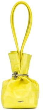 Kenzo Women's Yellow Leather Handbag.