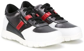 Dolce & Gabbana Kids panelled sneakers