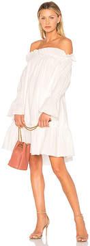 Edit Off Shoulder Smocked Dress