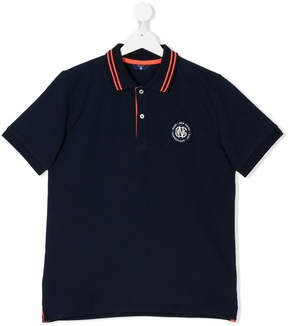 Gant Kids Teen logo patch polo shirt