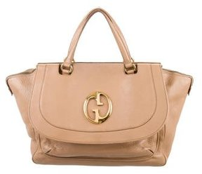 Gucci 1973 Medium Top Handle Bag - BROWN - STYLE