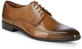 Matteo Massimo Men's Captoe Blucher Dress Shoes