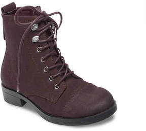 Madden-Girl Women's Fuze Combat Boot