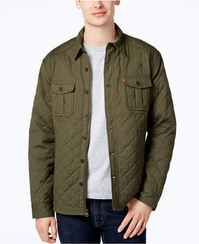 Levi's Men's Quilted Shirt Jacket