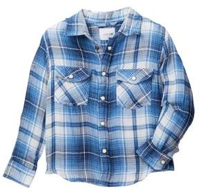 Joe's Jeans Plaid Woven Shirt (Little Boys)