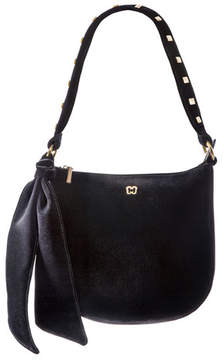 Eric Javits Velina Velvet Shoulder Bag