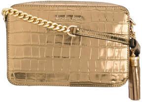 MICHAEL Michael Kors Ginny croc crossbody bag