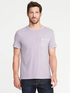 Old Navy Garment-Dyed Pocket Tee for Men