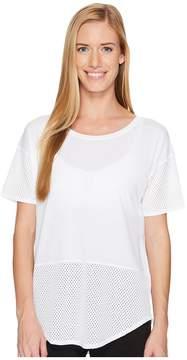 Lucy Lighten Up Mesh Short Sleeve Women's Short Sleeve Pullover