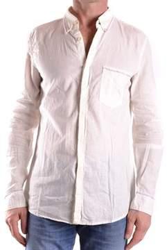 Marithé + François Girbaud Men's White Linen Shirt.