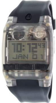 Nixon Men's Comp A408001 Black Silicone Quartz Sport Watch