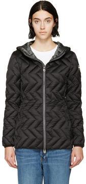 Colmar Black Down Zip-Up Jacket