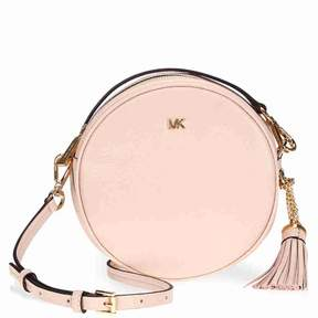 Michael Kors Mercer Medium Canteen Crossbody Bag- Soft Pink - ONE COLOR - STYLE