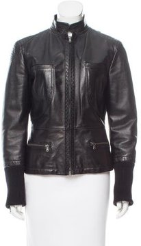 Tod's Leather Jacket