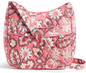 Vera Bradley Blush Pink Carryall Crossbody Bag - BLUSH - STYLE