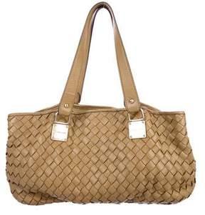 MICHAEL Michael Kors Woven Leather Shoulder Bag