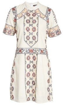 Kas Women's Ginger Embroidered Shift Dress