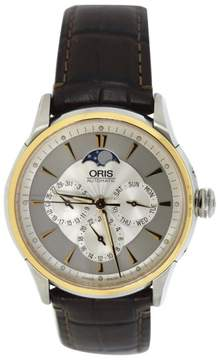 Oris Artix 7592 Moon Phase Two Tone Stainless Steel 40mm Mens Watch