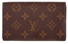 Louis Vuitton Monogram Canvas Porte Monnaie Tresor Wallet. - BROWN MULTI - STYLE