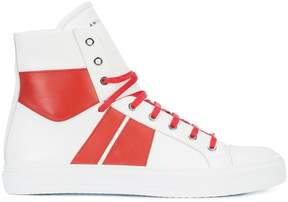 Amiri contrast panel sneakers