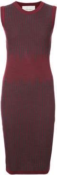 Carolina Herrera sleeveless patterned knit dress