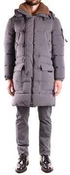 Peuterey Men's Grey Polyamide Coat.
