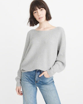 Abercrombie & Fitch Ribbed Dolman Sweater