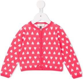 Emporio Armani Kids jacquard pattern cardigan