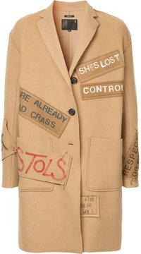 R 13 patch detail coat