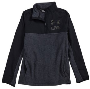 Under Armour Boy's Phenom Coldgear Quarter Zip Pullover