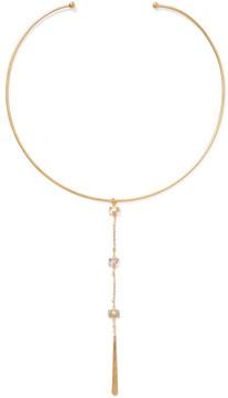 Chan Luu Gold-plated Multi-stone Choker